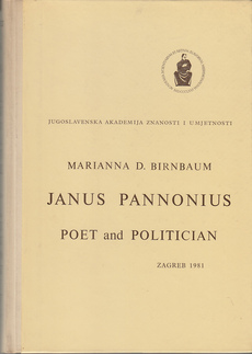 JANUS PANNONIUS - POET AND POLITICIAN (eng.)-0